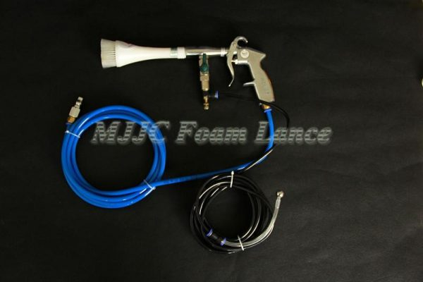 Portable Hurricane Car Cleaning Gun with brush