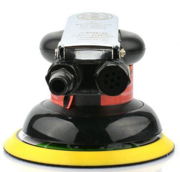 Boutique 5 inch disk type pneumatic polishing machine 125mm air Sander sandpaper polishing machine