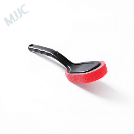 MJJC Wheel and Tire Coating Sponge brush Car Motorcycle Vehicle Wheel Tire Brush Waxing Sponge Removable Cleaning Hand Tools
