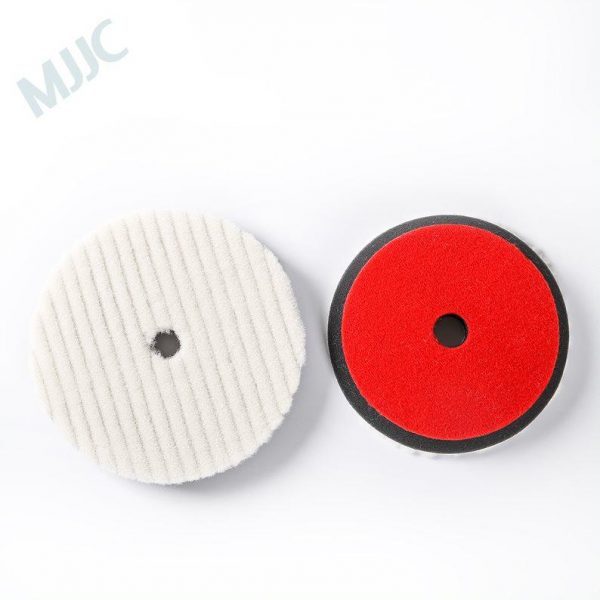 Wool Buffing Pad removes oxidized paint and scratches 6 inch