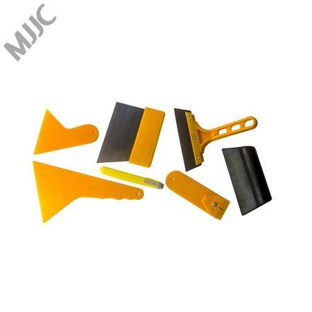 MJJC brand Neoteck 7 in 1 Car Window Film Tools Squeegee Scraper Set Kit For Car Home