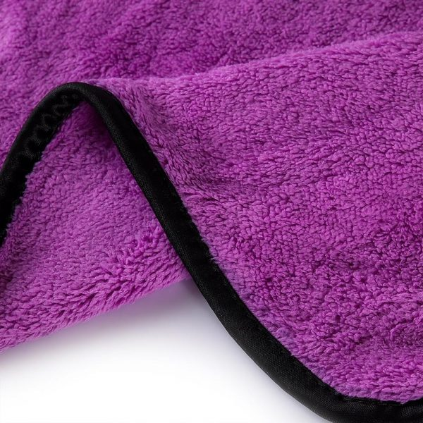 MJJC 40*60 cm Super Absorbent Car Wash Microfiber Towel Car Cleaning Drying Cloth Hemming Car Care Cloth