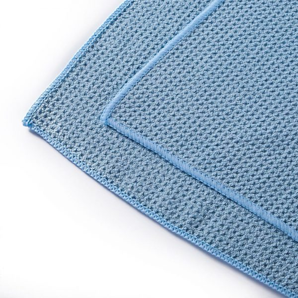 Waffle Drying Towel options of 40x40 and 60x80