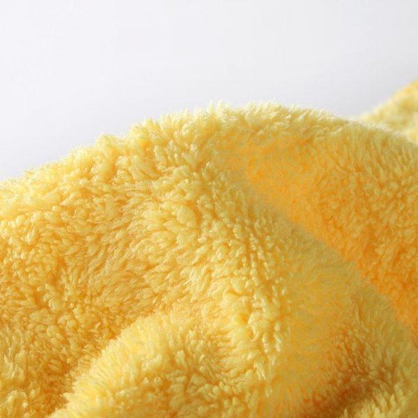 Coral fleece absorbent towel 34 x 75 cm