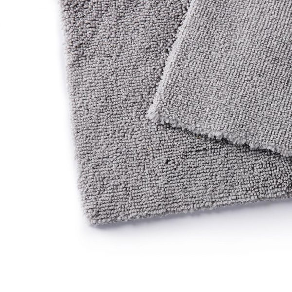 Edgeless Microfiber Towel 300gsm 40x60cm Grey Color