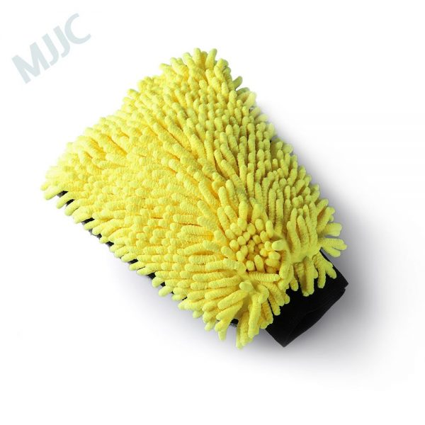 MJJC Microfiber And Chenille Wash Mitt With Waterproof Liner Inside Ultra Soft Car Wash Mit