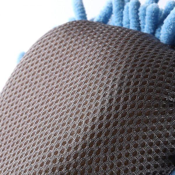 MJJC Motorcycle Washer Supplies Car Cleaning Mitt Wax Detailing Polishing Fiber Chenille Anthozoan Microfiber Car Wash Pad