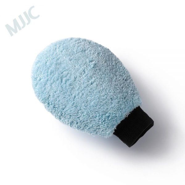 Microfiber Wash Mitt Single Side with High Quality and Convenient