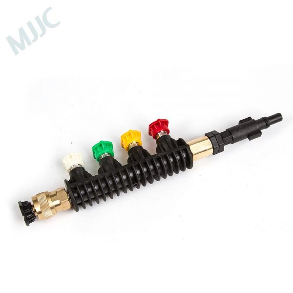 MJJC Brand Water Spray Lance Wand Nozzle for Black&Decker / Skil 0760 / Makita / AR Blue / Bosche AQT series Pressure Washer
