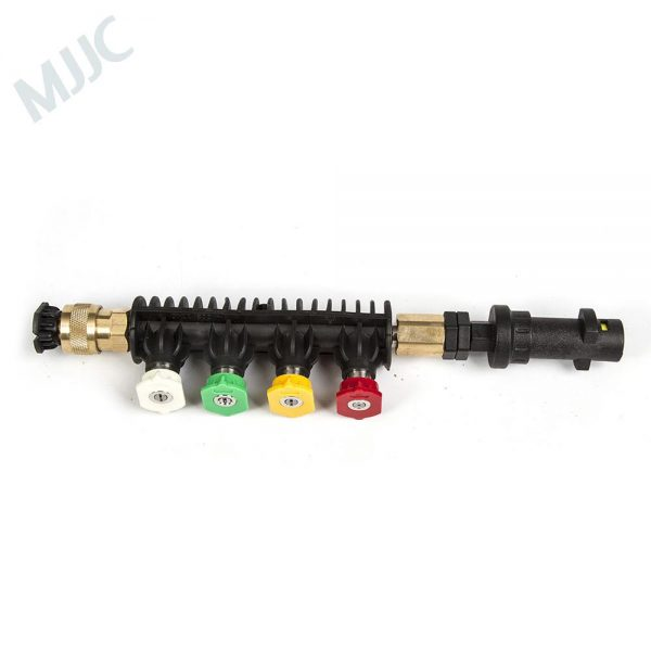 High Quality Water Spray Lance Water Wand Nozzle for Karcher K Series Pressure Washer with 5 spray tips