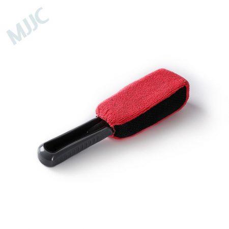 MJJC Hard Scratch-Free Short Handle Wheel/Tire Brush Special Design