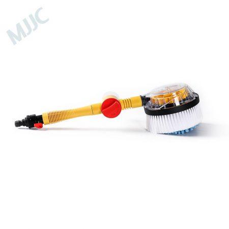 MJJC Car Wash Chenille Cleaning Brush Water Spray Handheld Sparyer Tool