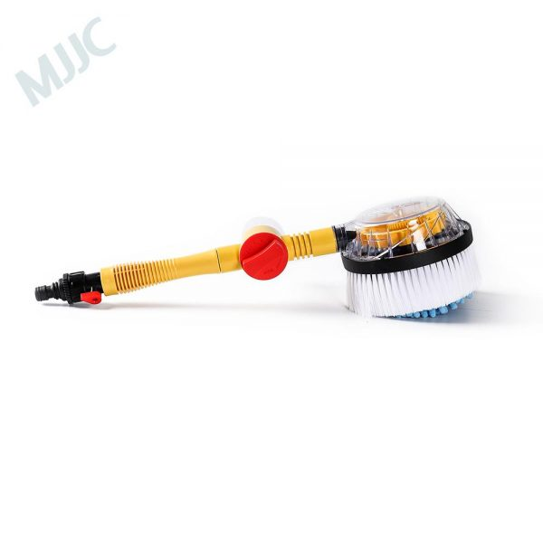 MJJC Car Wash Chenille Cleaning Brush Water Spray Handheld Sparyer Tool