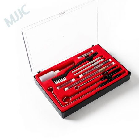 MJJC ABN Master Spray Gun Cleaning and Maintenance 22-Piece Kit for HVLP, Gravity Feed, Detail, Pressure, and Suction Guns