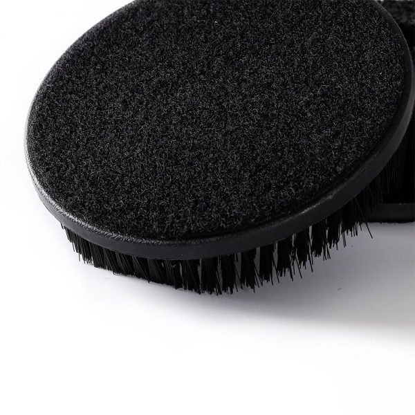 Upholstery and Carpet Pad Brush to Attach to Polishers