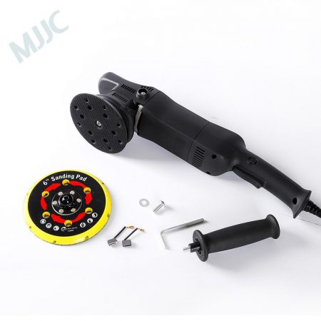 Dual Action Polisher 15mm orbit comes with both 5 inch and 6 inch backing plate