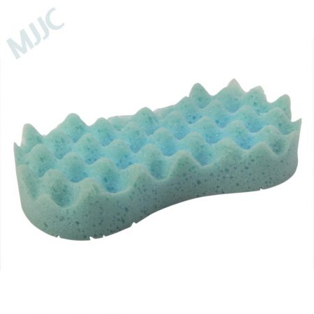 weave shaped car wash sponge