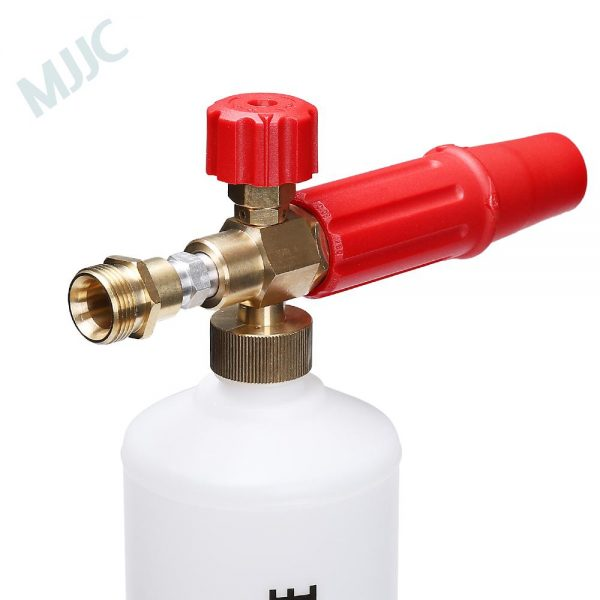 Foam Cannon with M22 male 22x1.5mm thread with internal 14mm diameter
