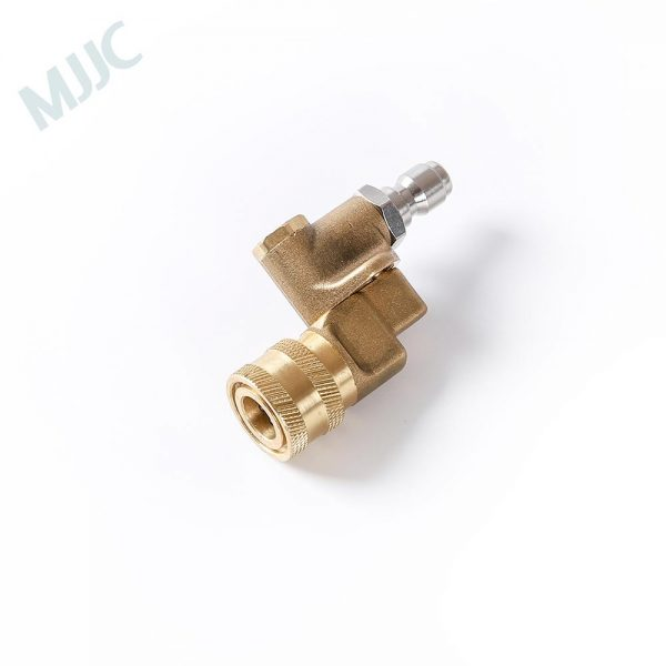"""High Pressure Swivel Spray Nozzles with 1/4"""" Quick Connection Nipple"""