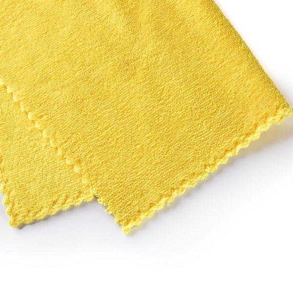 edgeless 350gsm towel with weave edge