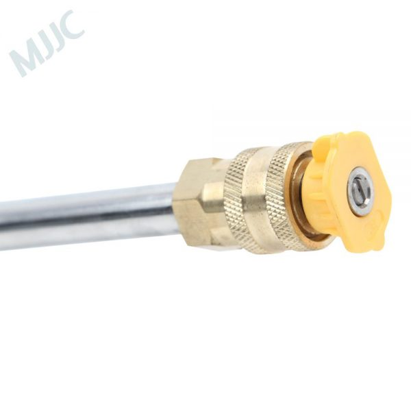 Water Spray Lance Water Wand Nozzle for PA Type Quick Connection Pressure Washers Bigger than 1/4 Quick Connection