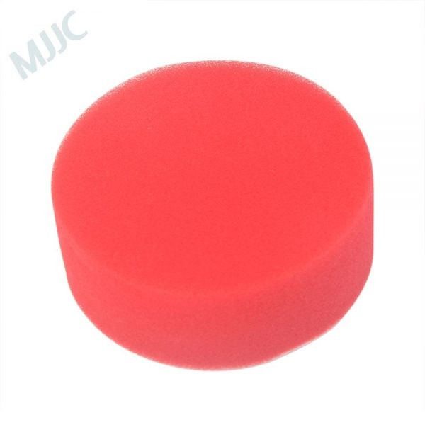 3 inch red foam polish pad hook & loop interface