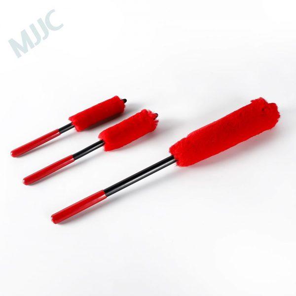 MJJC Wheel Detailing Brush Kit made of Microfiber