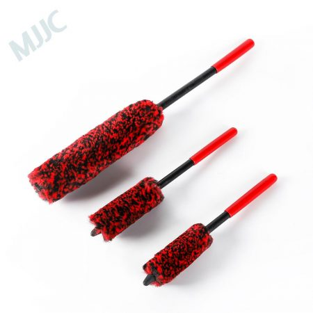 MJJC Wheel Detailing Brush Kit made of Microfiber
