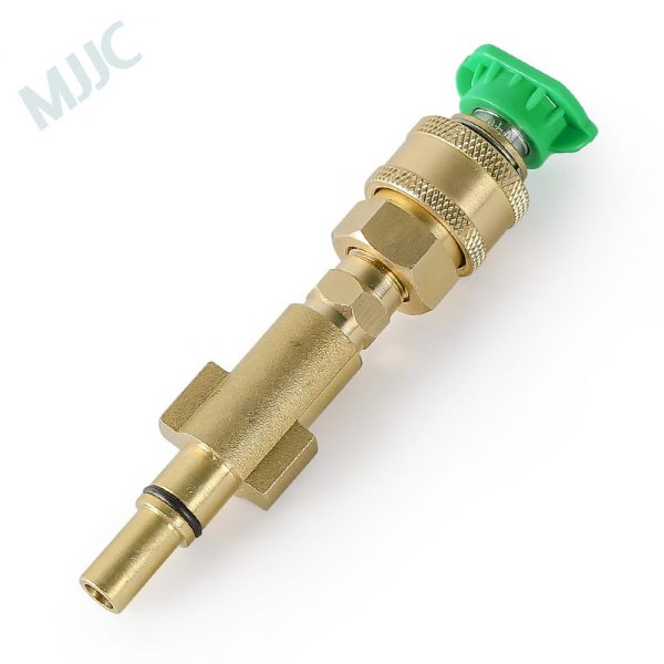 MJJC Brand Short Water Spray Lance Wand Nozzle for Black&Decker / Skil 0760 / Makita / AR Blue / Bosche AQT series Pressure Washer