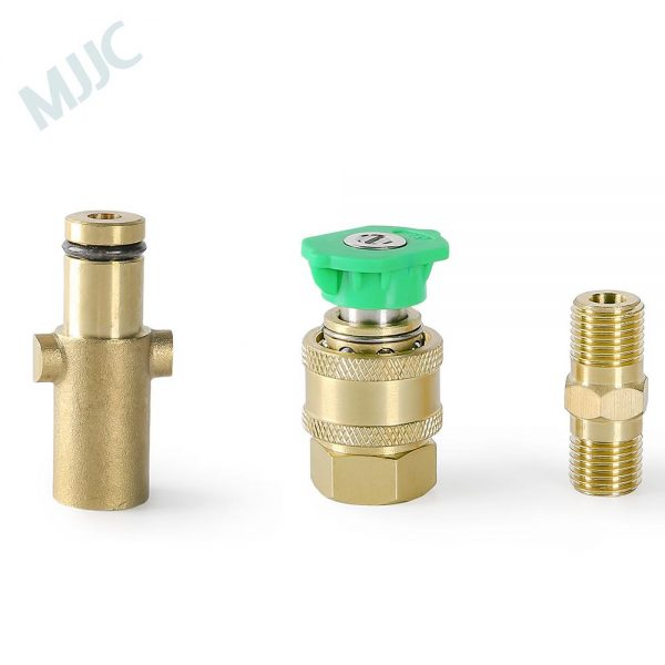 MJJC Short Water Spray Lance Water Wand Nozzle for Nilfisk rounded fitting / Stihle / Gerni pressure washers