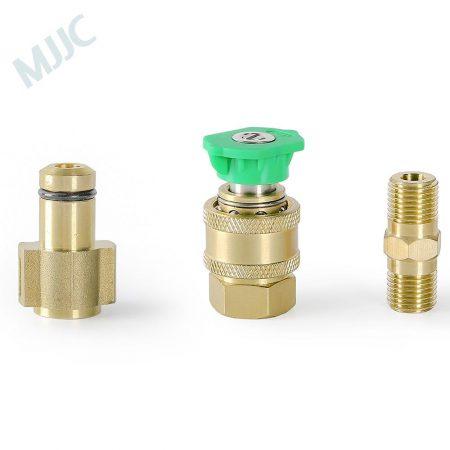 MJJC Short Water Spray Lance Water Wand Nozzle for Robinzon / Sturm / Texas / Hitachi / new Interskol(c) pressure washers