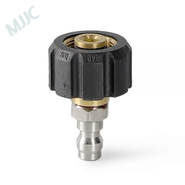 M22 thread Connection to 1/4 inch Quick Connection Transformer/Adapter