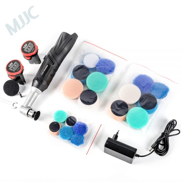 portable polisher with pads
